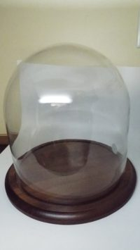 round glass dome