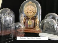 Antique Oval Glass Domes